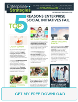 Reasons social enterprises fail